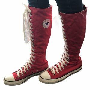 Converse Chuck Taylor Knee High Red men 7